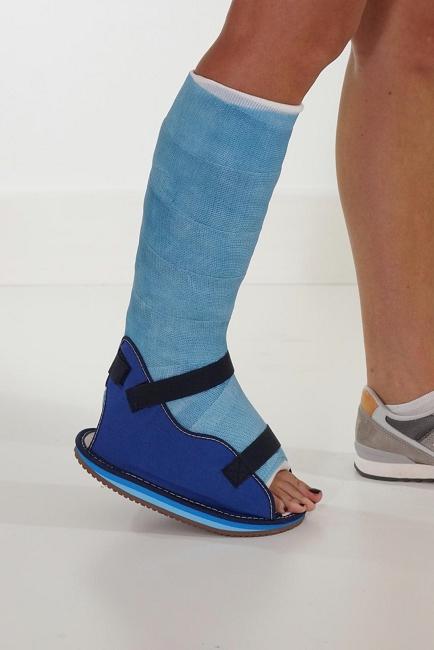 Open Heel Canvas Shoe